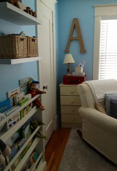 Baby boy nursery for a boy named Andrew :-).