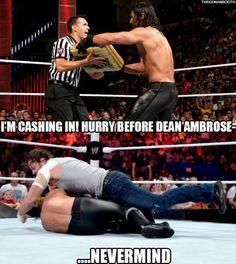 Seth rollins and dean Ambrose