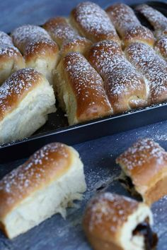 Nosztalgia süti: ízes bukta | Street Kitchen Hot Dog Buns, Hot Dogs, Ring Cake, Hungarian Recipes, Scones, Sweets, Bread, Snacks, Kitchen
