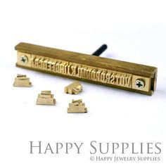 Custom Leather Stamp 26 Alphabet Stamp Brass Metal Stamp / Interchangeable Wood Brand Iron Heat Emboss w Letter T-slot Holder Soldering Iron Food Branding, Branding Iron, Foil Stamping, Metal Stamping, Beijing China, Character Symbols, Caber, Alphabet Stamps, Leather Stamps
