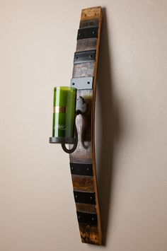 Wine Barrel Sconce by alpinewinedesign on Etsy, $249.00