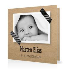 Geburtskarte Masking Tape www.goldbek.de