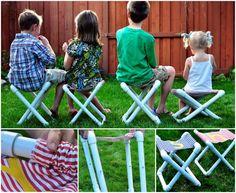 PVC Summer Camp Chair!
