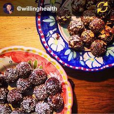 RG @willinghealth: #miramanek I have a new food crush! Mira make these and more ! yummy spicy date,almond and coconut balls. Very healthy follow her she won't disappoint #regramapp