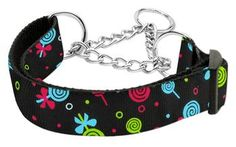 Mirage Pet Dog Cats Indoor Outdoor Training And Behavior Aids Accessories Lollipops Nylon Ribbon Collar Martingale Large Black Pet Supplies - Dogs - Training & Behavior Aids - Dog Training and Behavior Aids - http://amzn.to/2khEr16
