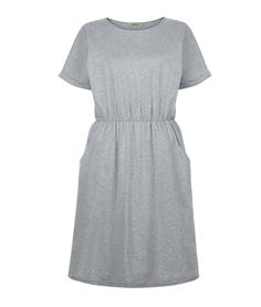 Rhona Pocket Dress Grey Melange