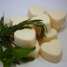 Rosemary Mint Scented Soy Wax Melts/Tarts | blackberrythyme - Candles on ArtFire