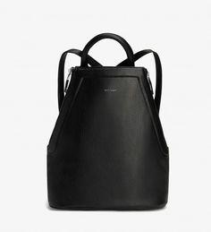 CHANDA - BLACK. Modern Backpack. Matt and Nat. <3 Canada!