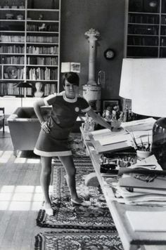 She was one of the designers who took credit for the miniskirt and hot pants, and by promoting these and other fun fashions she encouraged young people to dress to please themselves and to treat fashion as a game