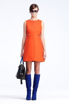 Evette Dress   Dresses by DVF - channeling my inner love for the sixties