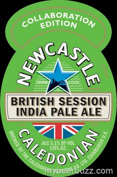 Here's your very first look at a new collaboration beer coming to the U. from Newcastle and Caledonian Brewery. Newcastle Brown Ale, Session Ale, British Beer, Beer Mats, Best Pubs, Pub Food, Beer Recipes, Wine And Spirits, Good People