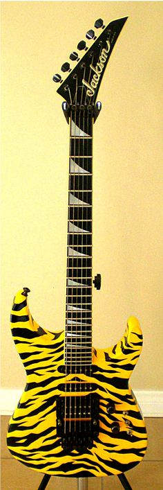 Stryper Guitar - Yellow And Black Attack
