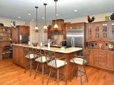 Love the breakfast bar in the kitchen!  $750,000 is the listing price for this home...