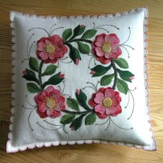 Pillow front
