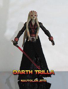 Star Wars Custom Darth Trilla Female Nautolan Sith Kit Fisto EU by Darth Dusty | eBay