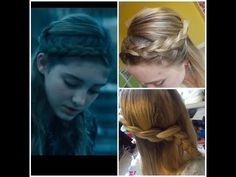 Hunger Games Catching Fire Prim Hair tutorial