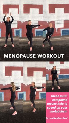 Exercise helps manage menopausal weight, and relieves many menopause symptoms. These exercises are the best for the menopause. The reason being is they are multi compound & multi directional, so they help to boost up our BMR (basal metabolic rate) as well Fitness Workouts, Fitness Motivation, Sport Fitness, At Home Workouts, Health Fitness, Fitness Expert, Senior Fitness, Keep Fit, Get In Shape