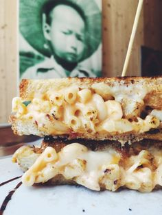 Florida's Best Grilled Cheese Sandwiches - this one has macaroni and cheese, fried chicken and chipotle mac n cheese grilled cheese! SO GOOD!