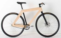 The Carbonwood Bicycle. Art or Design? : TreeHugger