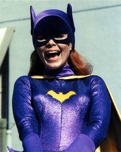 'Yvonne Craig' as 'Batgirl' on 'Batman TV Series' Adam West Batman, Batman Y Robin, Batgirl And Robin, Batman And Batgirl, Batman 1966, Batman And Superman, Batman Stuff, Batman Show, Batman Tv Series
