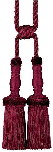 """31.5"""" Elegant French Style Dual Tassels for Any Tapestry or Drapery RD by XoticBrands. $70.34. Elegant French Style Dual Tassels - the perfect accent for any tapestry or drapery treatment. ; Tapestry and window hangings should not be without the style and elegance that these beautiful tassels add!31½""""H. 1 lb.. Save 14%!"""