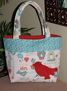 Belle Bag    Beloved READY TO SHIP by SemperFabDesigns on Etsy, $43.00