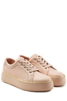MAX MARA Leather Sneakers. #maxmara #shoes #