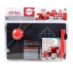 We R™ Gift Box Punch Board