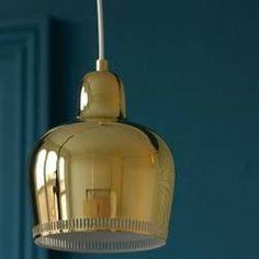 Alvar Aalto's Golden Bell Light