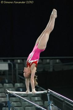 Anna Rodionova, gymnastics, gymnast, uneven bars from Kythoni's Gymnasts and Meets board http://pinterest.com/kythoni/gymnastics-gymnasts-meets-championships/   m.39.5 #KyFun