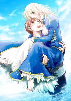 Shirou Emiya / Saber【Fate/Stay Night】