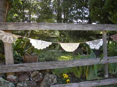 Aussie Made Rustic Crochet Bunting by SquirrelandSkunk on Etsy, $27.00