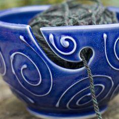 Cool yarn bowl