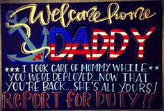 This is the ultimate list of military homecoming signs! Make the day you have been waiting for special with an amazing welcome home sign!