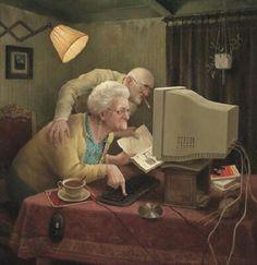 Computer, Marius van Dokkum.