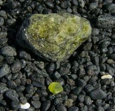 The great majority of rocks are made of silicate minerals.: Olivine