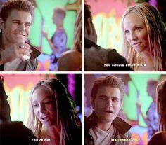 """#TVD 6x16 """"The Downward Spiral"""" - Stefan and Caroline"""