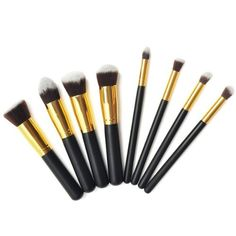 Annengjin 8PCS Professional Makeup Brushes Brush Cosmetic Set Make up Brushes Blending Concealer Eyeshadow Eye No description (Barcode EAN = 6931715900283). http://www.comparestoreprices.co.uk/health-and-beauty/annengjin-8pcs-professional-makeup-brushes-brush-cosmetic-set-make-up-brushes-blending-concealer-eyeshadow-eye.asp