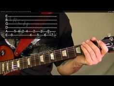EASY! AC/DC - BACK IN BLACK - How to Play - Free Online Guitar Lessons W...