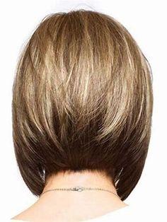 Resultado de imagen de Graduated Bob Hairstyles Back View