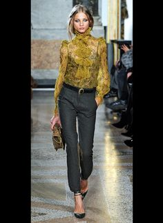 Pucci - courtesy of Who, What, Wear Fall 2011 Trend Report