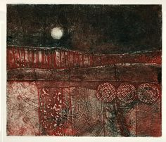 Collagraph print by Mari French