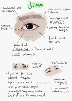 Only pinning this because of diversity for eye shapes for my art