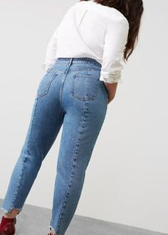Mom-fit Desi jeans