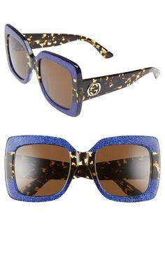 99b0e47d990 GUCCI 55mm Square Sunglasses.  gucci   Sunglasses Accessories