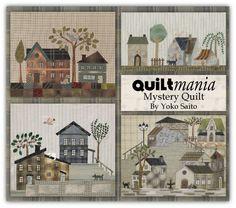 Mystery Quilt by Yoko Saito