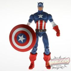 CAPTAIN AMERICA - 2013 Marvel Universe /// Marvelicious Toys - The Marvel Universe Toy & Collectibles Podcast