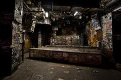 In September 2006, I spent 10 days shooting the interior of legendary NYC rock club CBGB. Six weeks later the club closed its doors forever, and the fabled walls and stage were dismantled. A year after that, as former owner Hilly Kristal succumbed to cancer, a high-end clothing store negotiated to take over the space. The club had been a favorite venue for countless rock and punk acts, but for those few days my experience of the club was the exact opposite of most people's. I came to look…