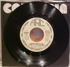 Earth Wind And Fire ~ Columbia 311033 45