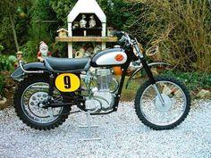 Vintage Motocross, Vintage Motorcycles, Harley Davidson Motorcycles, Cars Motorcycles, Mx Bikes, Dirt Bikes, Sr 500, Classic Bikes, Classic Motorcycle